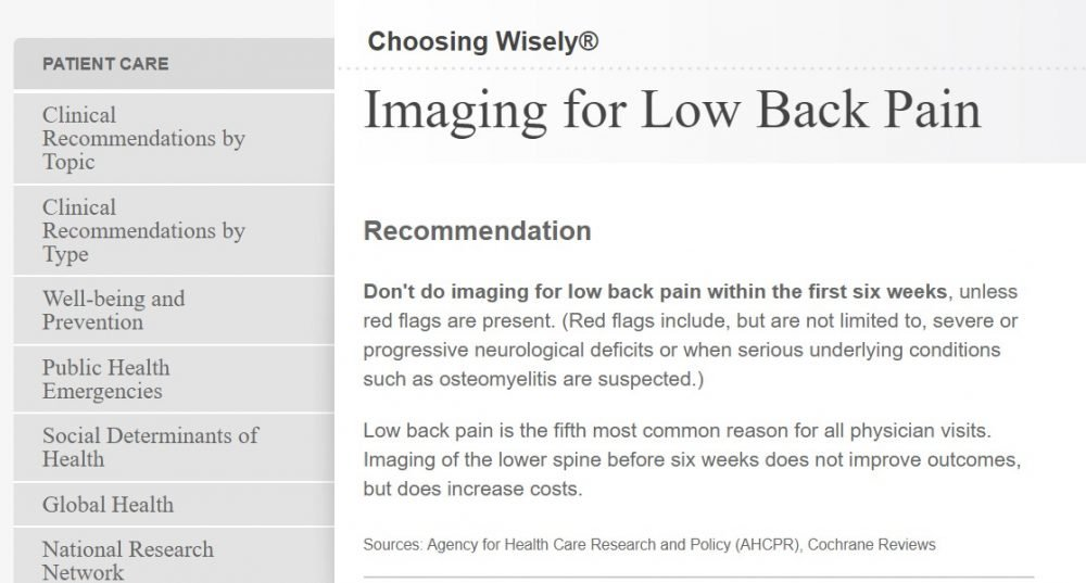 mri, low back pain, research