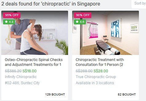 chiropractor singapore price, cost of chiropractic