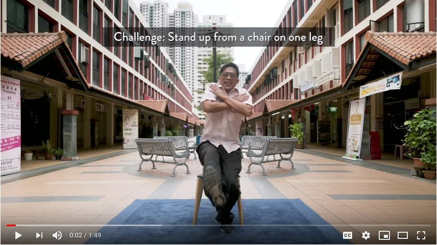 stand4strength, sit to stand, ageing, singapore