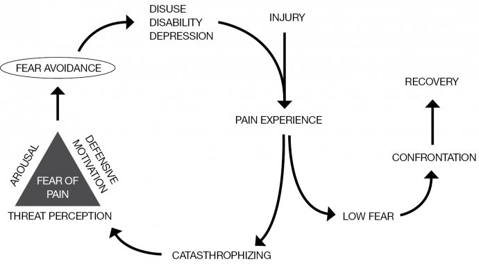 chronic pain, fear avoidance, feedback loop