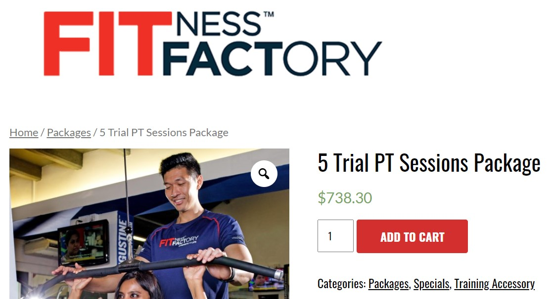 fitness factory, personal trainers