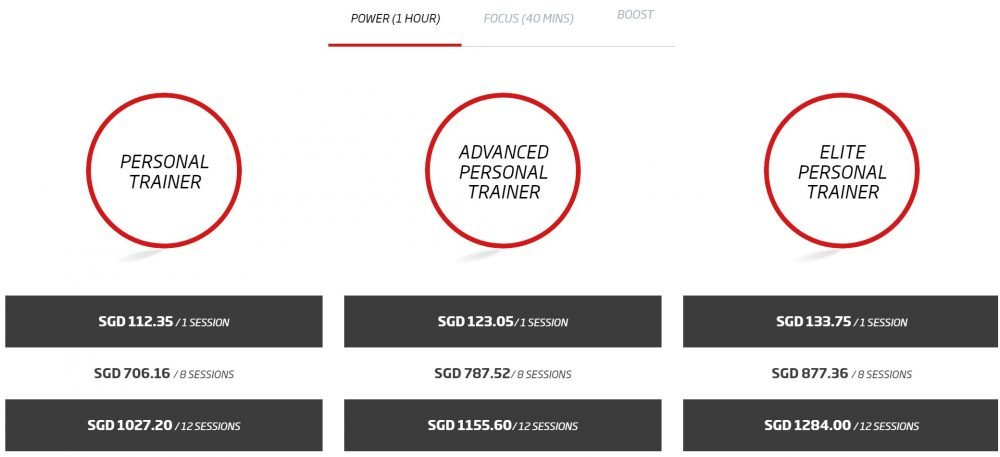 personal training, how much does personal training cost
