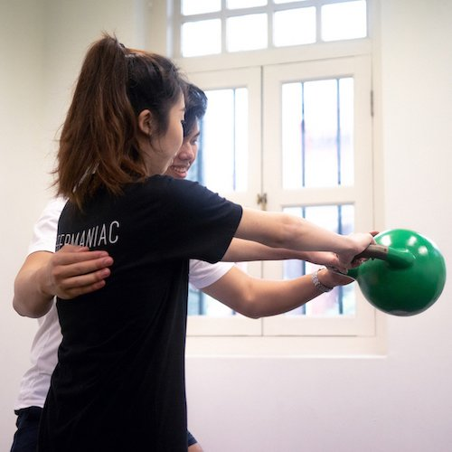 kettlebell training singapore, weight loss singapore